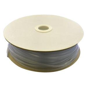 光 (HIKARI) エンビUパッキンドラム巻 透明 7.4×10.3mm 3mm用 KVC3-50W   50m|zerocon