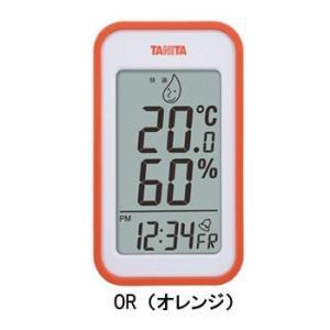TANITA タニタ デジタル温湿度計 TT-559 OR・TT-559-OR|zerocon