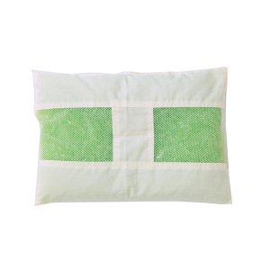ヒバエッセンス練り込みパイプ使用 『ひばパイプJr枕』 約28×39cm 2902759|zerocon