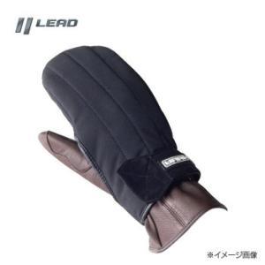 リード工業 WARMTH オーバーグローブ フリーサイズ ブラック KH-007T|zerocon