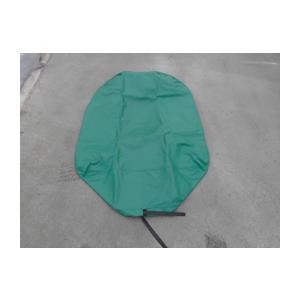 ゴム入りホッパーカバー 小型車用 緑色生地 ミキサー車 アジテータ車 |zerocon