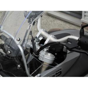 ハンドルセットバックキット ササキスポーツクラブ(SSC) BMW F800GS|zerocustom