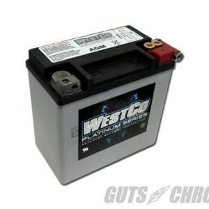 WCP14L PLATINUMシリーズ(AGMバッテリー)純正65958-04互換 WESTCO(ウ...