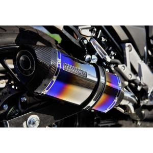 Vストローム250(V-Strom250) GT-CORSA スリップオンマフラー ヒートチタン 政府認証 BMS-R(ビームス)|zerocustom