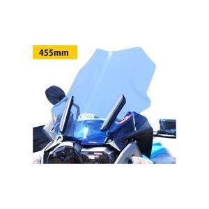 BMW R1200GS(13〜14年) アドベンチャースクリーン ライトスモーク 455mm Powerbronze(パワーブロンズ)|zerocustom