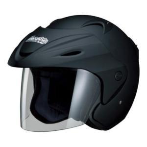 M-380 ジェットヘルメット マットブラック フリーサイズ(57〜60cm未満) Marushin(マルシン)
