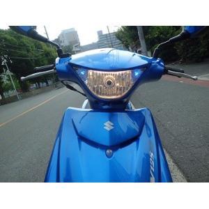アドレスV125S(ADDRESS) ポジション付きヘッドライトユニット 油漢(YUKAN)|zerocustom