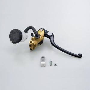 【セール特価】NISSINラジアルブレーキマスターシリンダー縦型Φ17(11/16インチ) ゴールド レバーカラー ブラック DAYTONA(デイトナ)|zerocustom