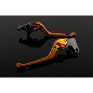 KTM 1190 RC8/R '09〜'16 可倒式アジャストレバーセット 3D レバー:ゴールド   SSK(エスエスケー) zerocustom