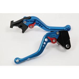 KTM 1190 RC8/R '09〜'16 ショートアジャストレバーセット レバー:ブルー   SSK(エスエスケー) zerocustom