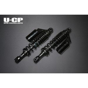 GSX1100S(KATANA) リアサスペンション(ブラック/ブラック) U-CP(ユーシーピー)|zerocustom