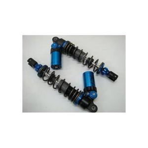 ビーウィズ(BWS125) SHARK-FACTORY 1WAY 減衰調整式ガス/オイルショック ブルー KN企画|zerocustom