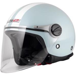 【セール特価】LS2 J-KIDS アクアブルー (キッズジェットタイプヘルメット) キッズフリー(53cm) MHR|zerocustom