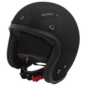 【セール特価】JET-D(ジェット・ディー)パールブラック メンズフリーサイズ(57-60cm)ジェットヘルメット DAMM TRAX(ダムトラックス) zerocustom