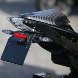BMW S1000R ショートライセンスブラケット ブラック塗装 ササキスポーツクラブ(SSC) zerocustom