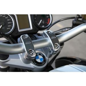 BMW R1200R DOHCエンジン車 ハンドルブラケット 12mmアップ・10.3mmバック r's gear(アールズギア) zerocustom