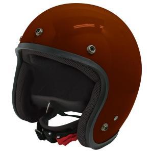 【セール特価】JET-D(ジェット・ディー)パールマルーン メンズフリーサイズ(57-60cm)ジェットヘルメット DAMM TRAX(ダムトラックス)|zerocustom