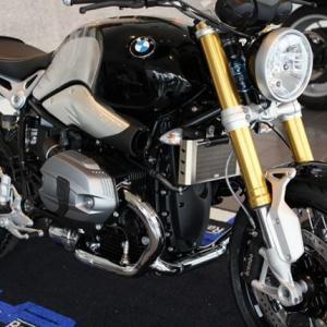 BMW RnineT チタンオイルプロテクター ササキスポーツクラブ(SSC) zerocustom