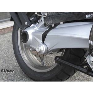 BMW RnineT スイングアームクラッシュプロテクター シルバー ササキスポーツクラブ(SSC) zerocustom