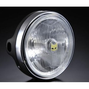 Z750FX-1 889ドライビングランプ フルキット クリアーレンズ/ブラックボディ MARCHAL(マーシャル)|zerocustom