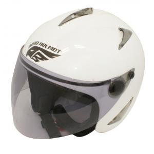 【セール特価】BIRDバードヘルメットパールホワイト(G-1)フリーサイズ ジェットヘルメット DAMM TRAX(ダムトラックス)|zerocustom