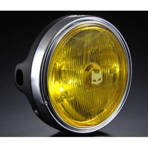 Z750FX-1 889ドライビングランプ フルキット イエローレンズ/ブラックボディ MARCHAL(マーシャル)|zerocustom