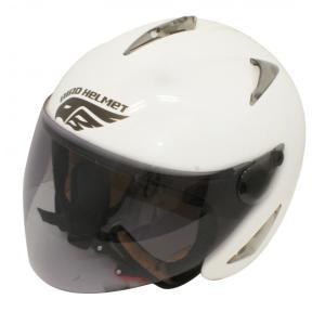 【セール特価】BIRDバードヘルメット レディース用 パールホワイト(G-1)フリーサイズ ジェットヘルメット DAMM TRAX(ダムトラックス)|zerocustom