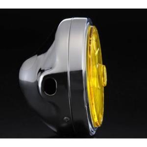 Z750FX-1 889ドライビングランプ フルキット イエローレンズ/メッキボディ MARCHAL(マーシャル)|zerocustom