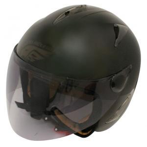 【セール特価】BIRDバードヘルメット レディース用 マットブラック(G-3)フリーサイズ ジェットヘルメット DAMM TRAX(ダムトラックス)|zerocustom