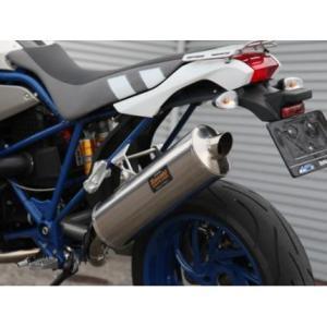 フルエキゾーストマフラー 色無 ササキスポーツクラブ(SSC) BMW HP2 MegaMoto(122EF)|zerocustom