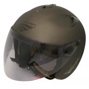 【セール特価】BIRDバードヘルメット レディース用 フラットガンメタル(G-5)フリーサイズ ジェットヘルメット DAMM TRAX(ダムトラックス)|zerocustom