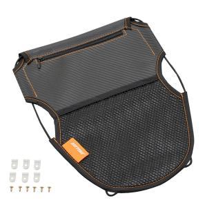 【セール特価】メットインポケット カーボン調 Sサイズ(幅250×高さ320mm)原付1種 DAYTONA(デイトナ)|zerocustom