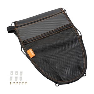 【セール特価】メットインポケット カーボン調 Lサイズ(幅270×高さ400mm)原付2種以上 DAYTONA(デイトナ)|zerocustom