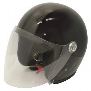 【セール特価】JET-S DAMM&RAX(ダム&ラックス)ブラック/ガンメタル フリーサイズ(57cm〜60cm)シールド付ヘルメット DAMM TRAX(ダムトラックス)|zerocustom