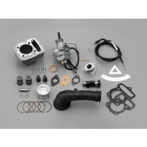 【セール特価】APE50(エイプ)AC16 ノーマルエアクリーナー対応PC20ビッグキャブ付ハイパーボアキット 80cc DAYTONA(デイトナ)