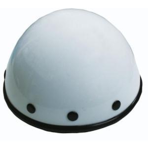 【セール特価】アニマルヘルメット ホワイト 小型犬用サイズ(12cm) DAMM TRAX(ダムトラックス) zerocustom