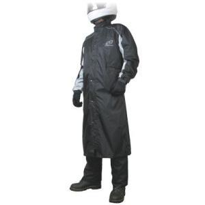 【カラー・サイズ】ブラック・XLサイズ 【備考】コートの特性上着座姿勢では裾から雨が入るケースがあり...