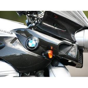 エアダクトカバー ドライカーボン 左右セット ササキスポーツクラブ(SSC) BMW K1200R zerocustom