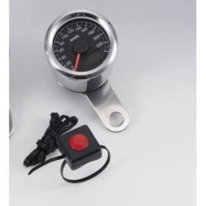【セール特価】電気式スピードメーター 240km/h LEDパネル 48mm タイプB KIJIMA(キジマ)|zerocustom