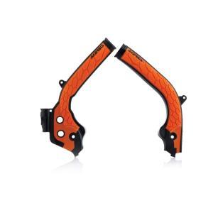 KTM 144SX X-GRIP FRAME プロテクター ブラック/オレンジ アチェルビス(ACERBIS)|zerocustom