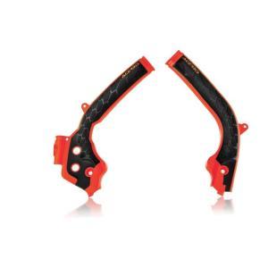 KTM 144SX X-GRIP FRAME プロテクター オレンジ/ブラック アチェルビス(ACERBIS)|zerocustom