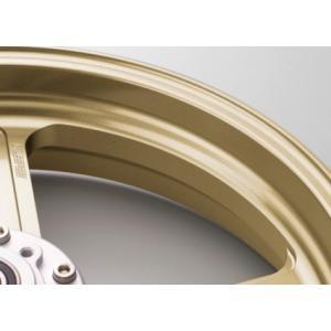 KTM 125DUKE(13〜14年) Type-S アルミニウム鍛造ホイール ゴールド 4.00-17 リア用 GALE SPEED(ゲイルスピード) zerocustom