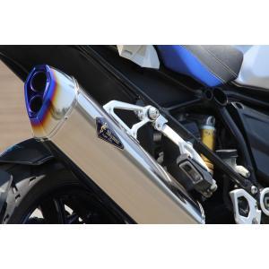 BMW 水冷 R1200GS/GS-A Wyvern Real Spec Single フルエキゾーストマフラー チタン r's gear(アールズギア)|zerocustom