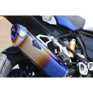 BMW 水冷 R1200GS/GS-A Wyvern Real Spec Single フルエキゾーストマフラー チタンドラッグブルー r's gear(アールズギア)|zerocustom