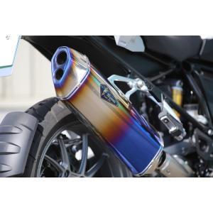 BMW 水冷 R1200GS/GS-A Wyvern Real Spec スリップオンマフラー チタンドラッグブルー r's gear(アールズギア) zerocustom