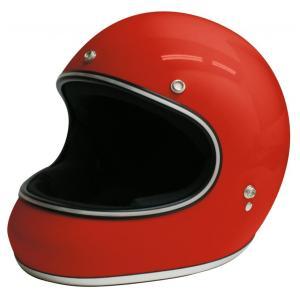 【セール特価】AKIRA(アキラ) レッド Lサイズ (フルフェイスヘルメット) DAMM TRAX(ダムトラックス)|zerocustom