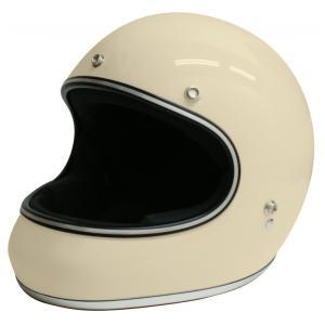 【セール特価】AKIRA(アキラ) アイボリー Lサイズ (フルフェイスヘルメット) DAMM TRAX(ダムトラックス)|zerocustom