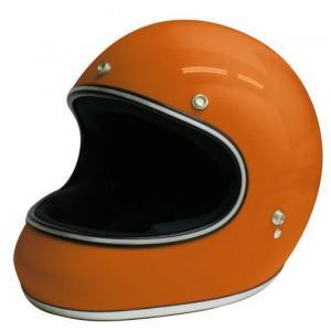 【セール特価】AKIRA(アキラ) オレンジ Lサイズ (フルフェイスヘルメット) DAMM TRAX(ダムトラックス)|zerocustom