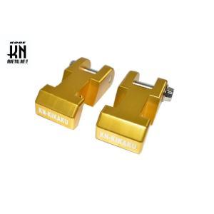 ビーウィズ(BWS125)5S9/BW'S X(46P)/BW'S 125 2型(BG1) リアショック レイダウンキット ゴールド KN企画|zerocustom