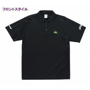 【サイズ】M 【商品説明】シンプルなデザインのドライポロシャツ! ●ニンジャシルエットの刺繍がポイン...